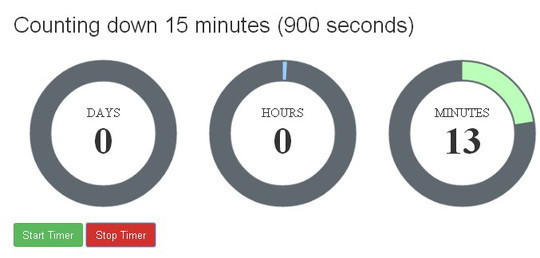 15 Awesome jQuery Countdown Timers 3