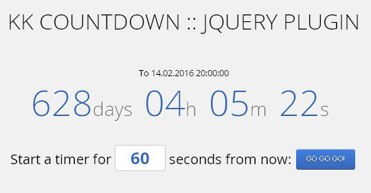 15 Awesome jQuery Countdown Timers 7