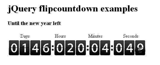 15 Awesome jQuery Countdown Timers 9