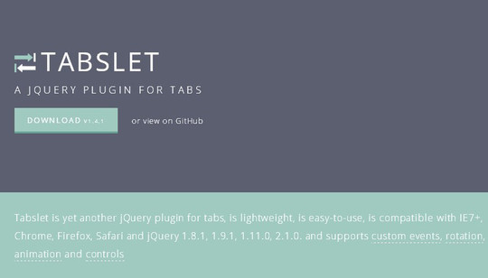 11 Free CSS & jQuery Tabs Plugin And Tutorials 3