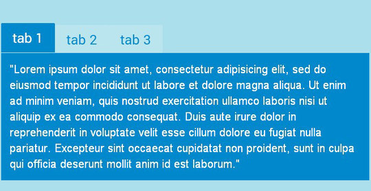 11 Free CSS & jQuery Tabs Plugin And Tutorials 4