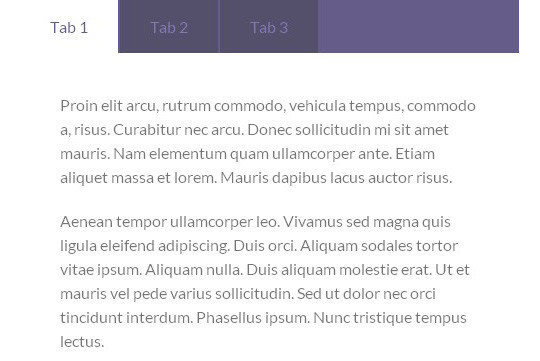 11 Free CSS & jQuery Tabs Plugin And Tutorials 5
