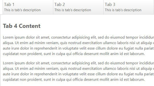 11 Free CSS & jQuery Tabs Plugin And Tutorials 8