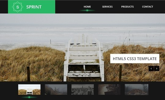 40 Fresh Yet Free HTML5 And CSS3 Templates 7