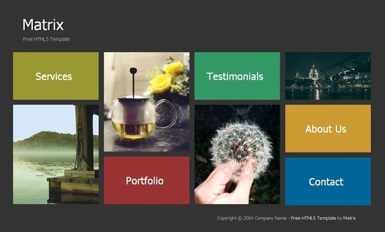 40 Fresh Yet Free HTML5 And CSS3 Templates 6