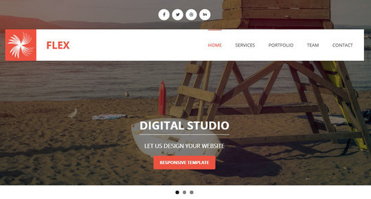 40 Fresh Yet Free HTML5 And CSS3 Templates 19
