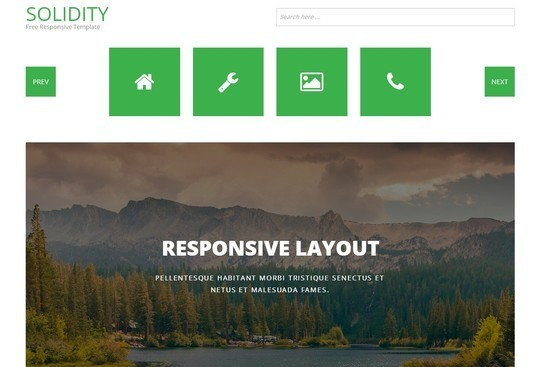 40 Fresh Yet Free HTML5 And CSS3 Templates 32