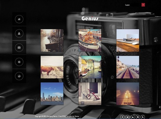 40 Fresh Yet Free HTML5 And CSS3 Templates 5