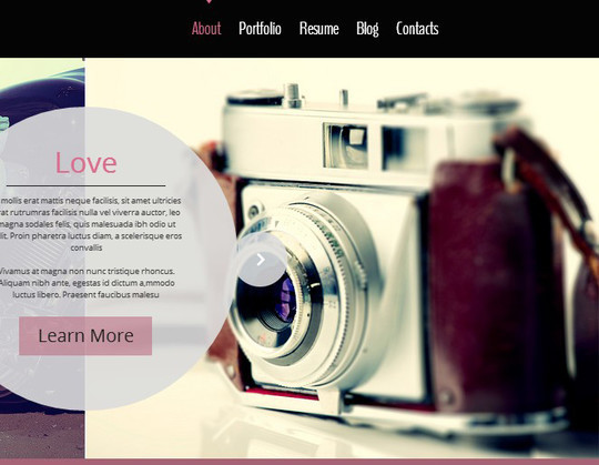 40 Fresh Yet Free HTML5 And CSS3 Templates 12