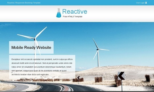 40 Fresh Yet Free HTML5 And CSS3 Templates 21