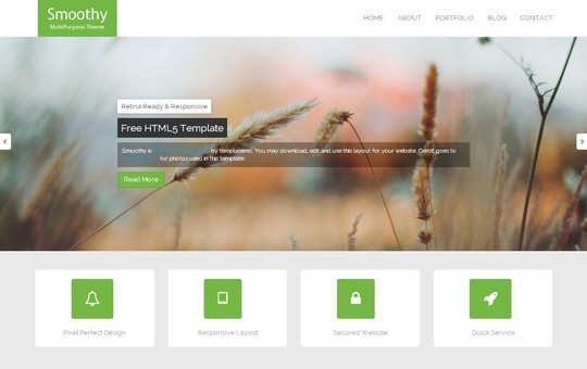 40 Fresh Yet Free HTML5 And CSS3 Templates 34