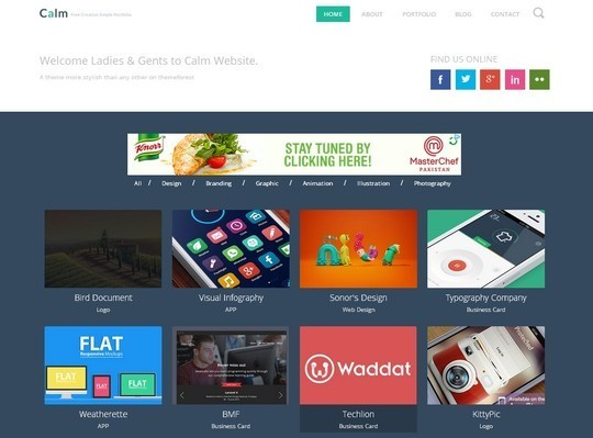 40 Fresh Yet Free HTML5 And CSS3 Templates 27