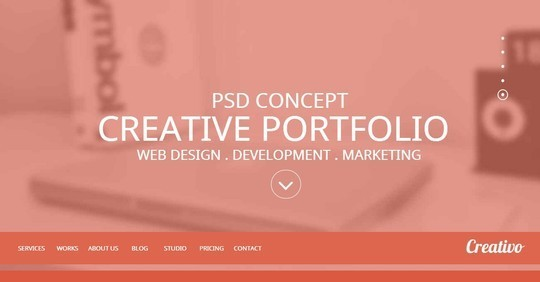 40 Fresh Yet Free HTML5 And CSS3 Templates 33