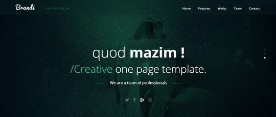 40 Fresh Yet Free HTML5 And CSS3 Templates 35