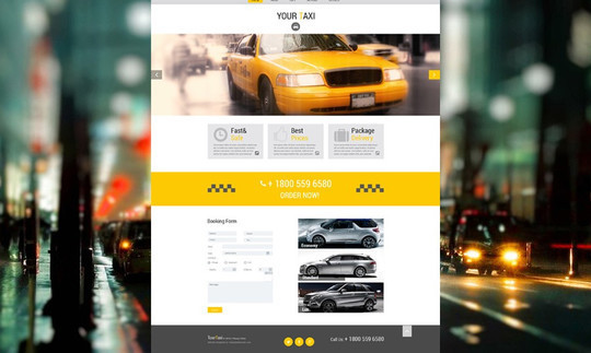 40 Fresh Yet Free HTML5 And CSS3 Templates 2