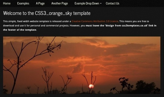 40 Fresh Yet Free HTML5 And CSS3 Templates 13