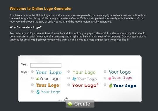 36 Free (and Premium) Logo Maker Tools And Generators 14