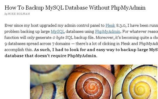 10 Tutorials To Take MySQL Database Backup 9