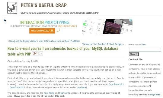 10 Tutorials To Take MySQL Database Backup 3