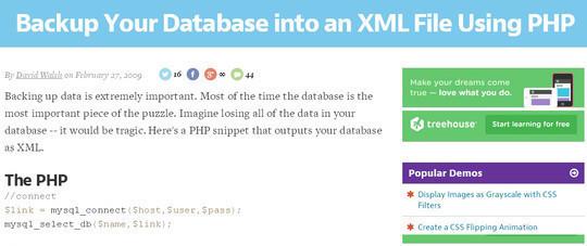 10 Tutorials To Take MySQL Database Backup 5