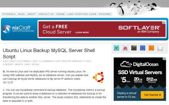 10 Tutorials To Take MySQL Database Backup 8