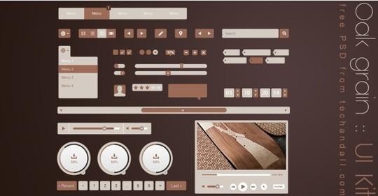 30 Really Useful Yet Free UI Design Kits 11