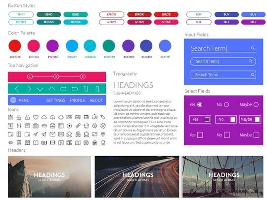 30 Really Useful Yet Free UI Design Kits 12