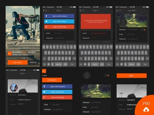 30 Really Useful Yet Free UI Design Kits 19