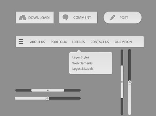 30 Really Useful Yet Free UI Design Kits 10
