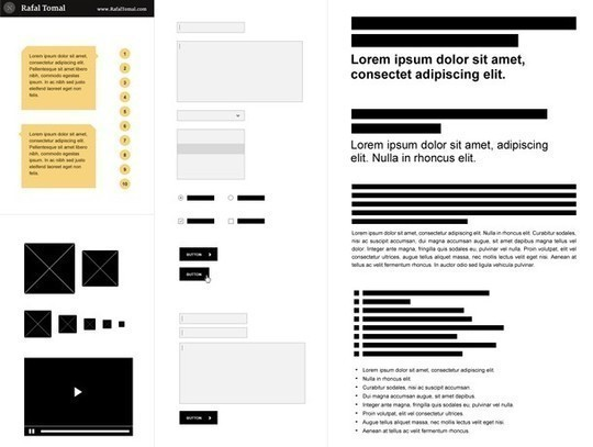 38 Free Web, Mobile UI Kits And Wireframe Templates 21