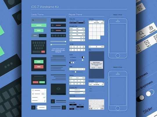 38 Free Web, Mobile UI Kits And Wireframe Templates 32