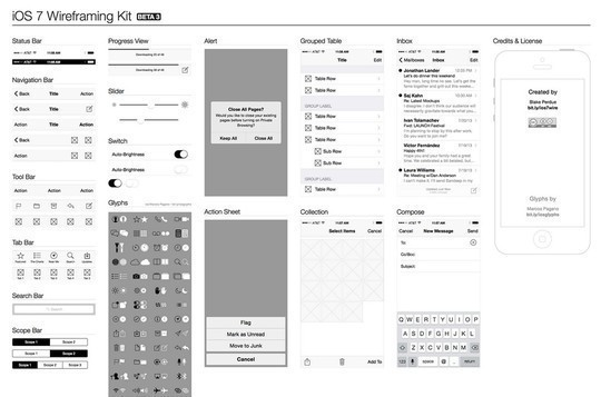 38 Free Web, Mobile UI Kits And Wireframe Templates 33