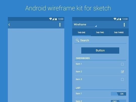 38 Free Web, Mobile UI Kits And Wireframe Templates 34
