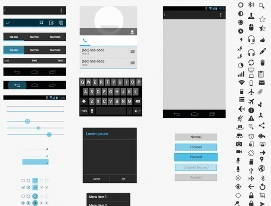 38 Free Web, Mobile UI Kits And Wireframe Templates 35