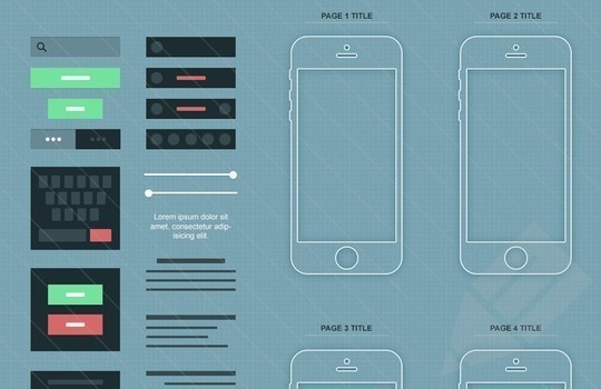 38 Free Web, Mobile UI Kits And Wireframe Templates 36