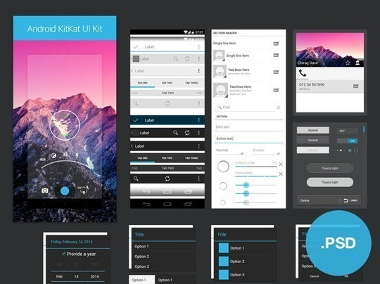 38 Free Web, Mobile UI Kits And Wireframe Templates 14