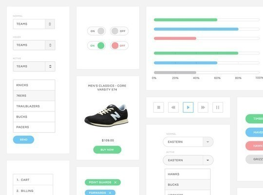 38 Free Web, Mobile UI Kits And Wireframe Templates 6