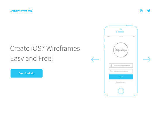 38 Free Web, Mobile UI Kits And Wireframe Templates 20