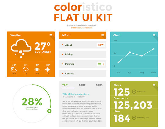 38 Free Web, Mobile UI Kits And Wireframe Templates 7