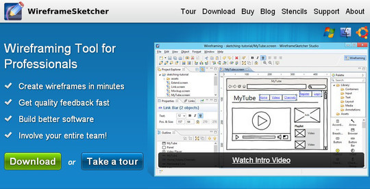 13 Sites For Free Wireframing Tools And Examples 11