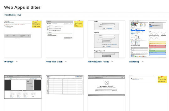 13 Sites For Free Wireframing Tools And Examples 13
