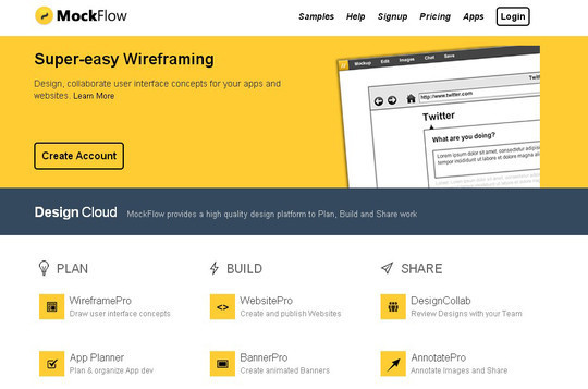 13 Sites For Free Wireframing Tools And Examples 8