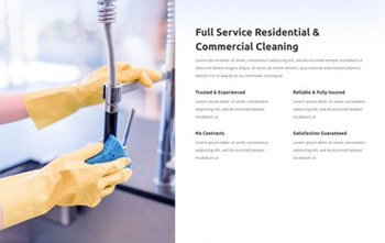 Cleaning Company free divi layout pack