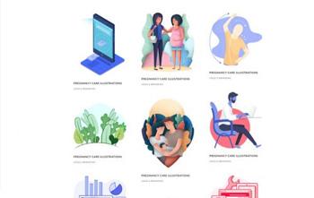 Graphic Illustrator Portfolio divi free layout pack