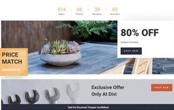 Hardware Store free divi layout pack