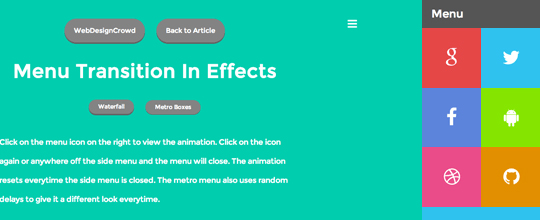 A Collection Of Useful jQuery CSS3 Navigation Menu Tutorials 2
