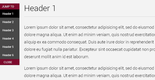 A Collection Of Useful jQuery CSS3 Navigation Menu Tutorials 4
