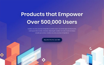 digital product free divi layout
