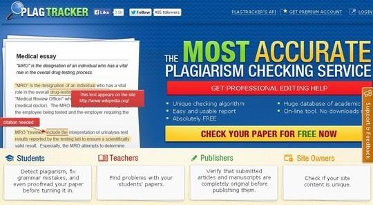 10 Free Plagiarism Detection Tools 8