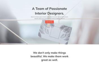 interior designer divi free layout
